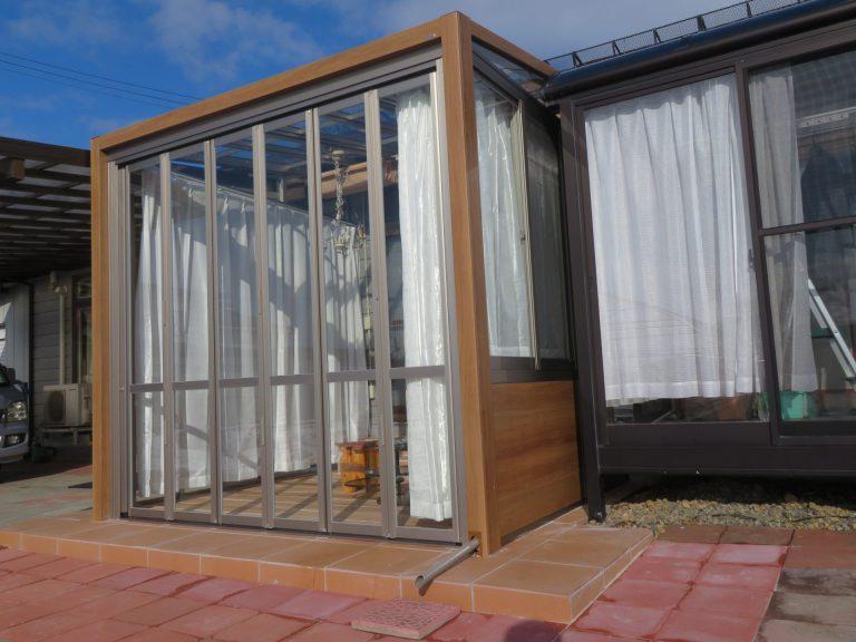 ガーデンルームGF 手軽にデザインを楽しめる空間
